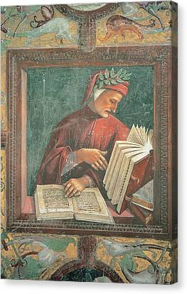 Signorelli Luca, Dante Alighieri, 1499 Canvas Print