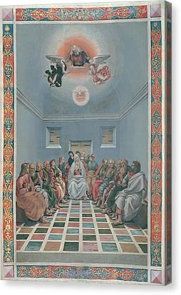 Signorelli Luca, Standard Crucifixion Canvas Print by Everett