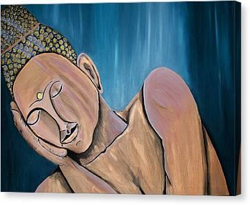 Silence Canvas Print by Mamu Art