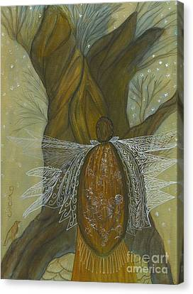 Silence Canvas Print by Nancy TeWinkel Lauren
