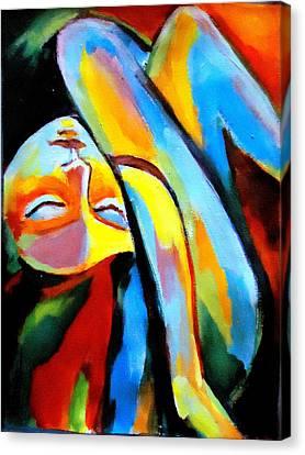 Silenced Desires Canvas Print by Helena Wierzbicki