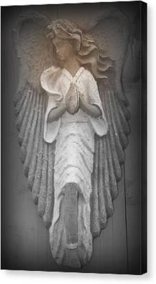 Silent Angel Canvas Print