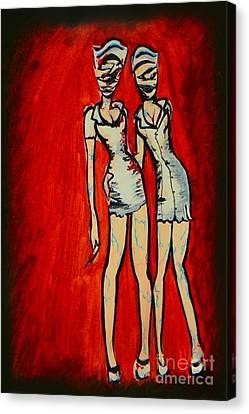 Silent Hill Nurses Canvas Print