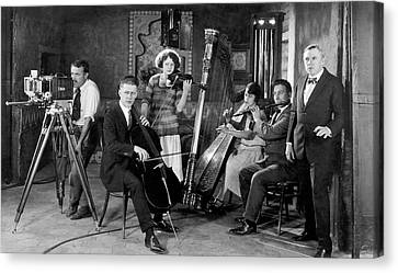 Omar Khayyam Canvas Print - Silent Movie Music Scene by Underwood Archives