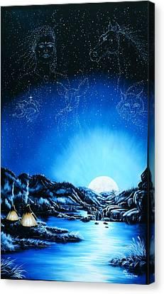 Silent Mysteryiii Canvas Print by Lori Salisbury