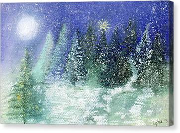 Silent Night Canvas Print by Sophia Elliot
