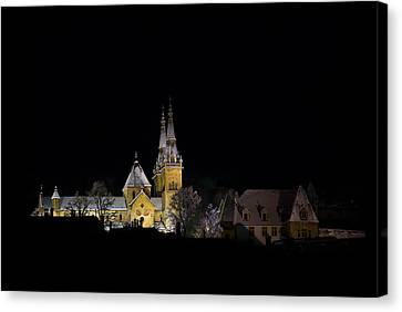 Silent Night Canvas Print by Charles Lupica