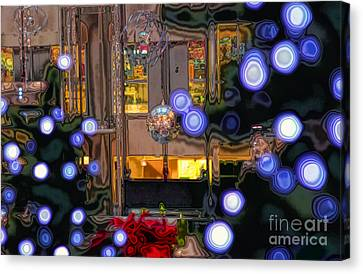 Silent Night Canvas Print by Charline Xia