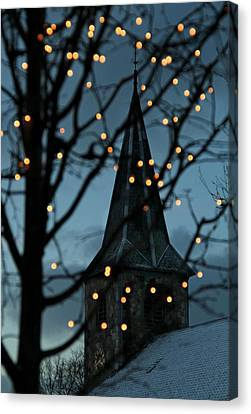 Silent Night Canvas Print by Odd Jeppesen