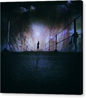 Silent Scream Canvas Print by Stelios Kleanthous