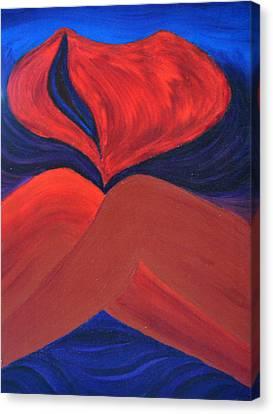 Daina Canvas Print - Silent She Emerges by Daina White