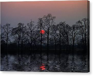 Silent Sun Canvas Print