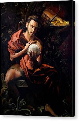 Silente Canvas Print by Massimo Tizzano