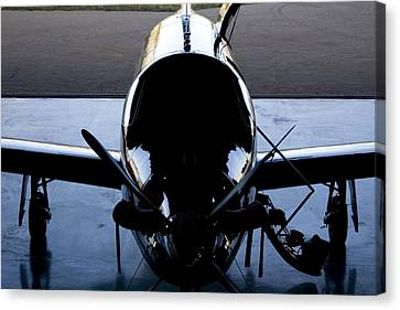 Silhouette Hanger Canvas Print by Paul Job