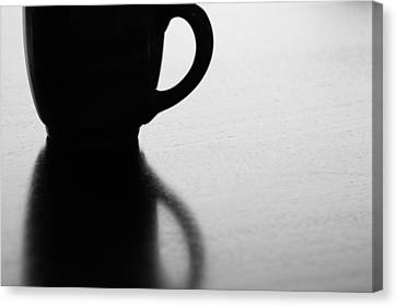 Canvas Print featuring the photograph Silhouette by Lisa Parrish