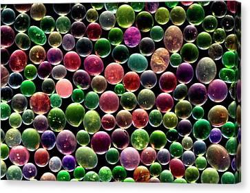Silica Gel Beads Canvas Print by Antonio Romero