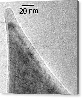 Transmission Canvas Print - Silicon Carbide Tip by Ibm Research