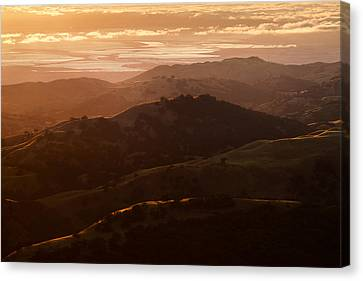 Canvas Print featuring the photograph Silicon Valley by Francesco Emanuele Carucci