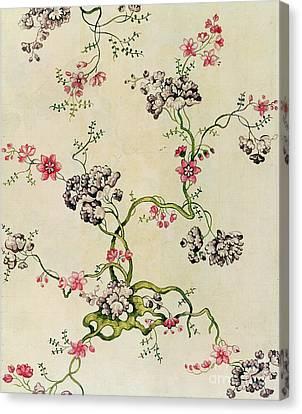 Silk Design Canvas Print by Anna Maria Garthwaite