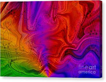 Canvas Print featuring the photograph Silk by Geraldine DeBoer