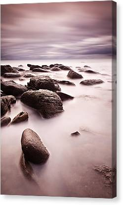 Silk Canvas Print by Jorge Maia