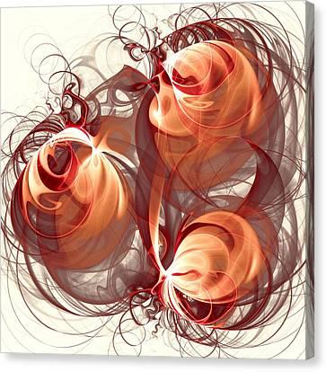 Silk Labyrinth Canvas Print by Anastasiya Malakhova