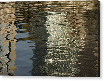 Silk Moire And Satin Abstracts - Horizontal  Canvas Print