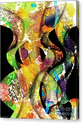 Silk Scarves Canvas Print