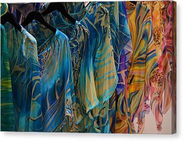 Silk Tops Canvas Print