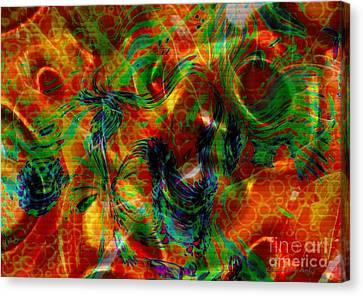 Silken Canvas Print by Kathie Chicoine