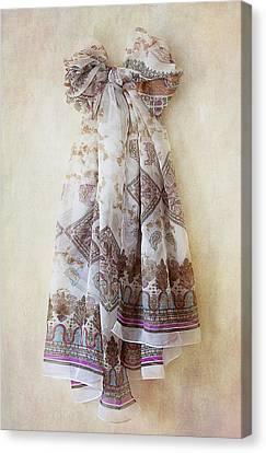 Silky Bow Canvas Print by Svetlana Sewell