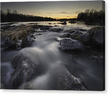 Silky River Canvas Print by Davorin Mance