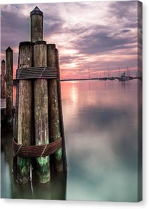 Silky Sunrise Canvas Print