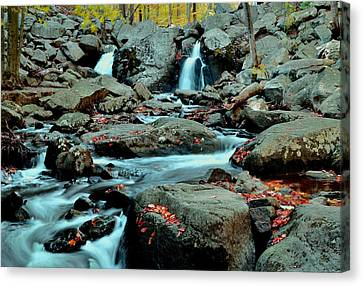 Silky Water 3 Canvas Print by Allen Beatty