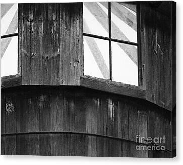Silo Canvas Print by Jim Rossol