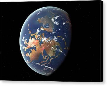 Silurian Earth Canvas Print