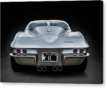 Silver '63 Canvas Print by Douglas Pittman