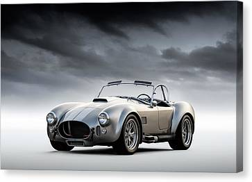 Silver Ac Cobra Canvas Print by Douglas Pittman