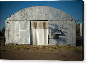 Silver Canvas Print by Bud Simpson