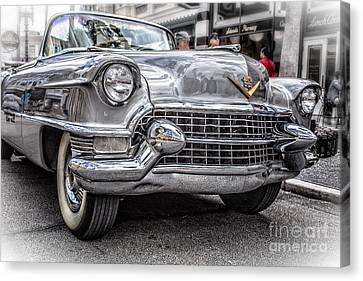 Silver Caddy Canvas Print by Edward Fielding