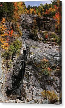 Silver Cascade Canvas Print by Juergen Roth