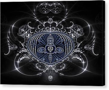 Silver Goblet Canvas Print