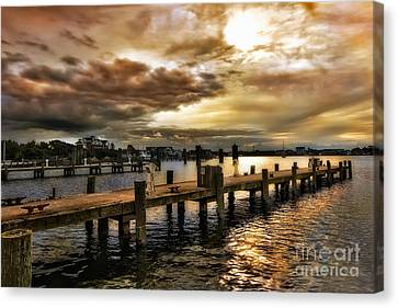 Silver Lake Harbor Canvas Print
