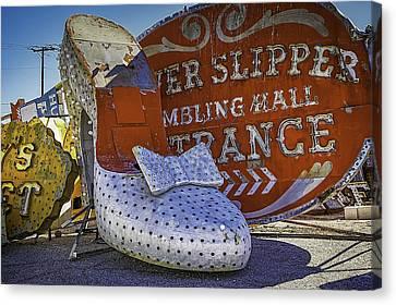 Silver Slipper Canvas Print by Garry Gay