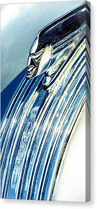 Profile In Chrome II Canvas Print by Caitlyn  Grasso