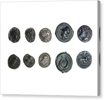 Silver Tetradrachm Canvas Print