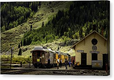 Silverton Station Canvas Print