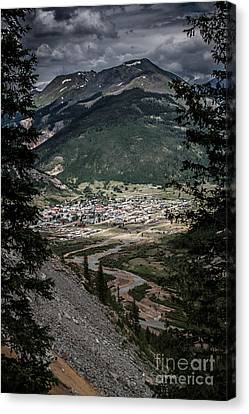 Silverton View From Above Canvas Print