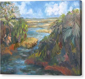 Simmons Bayou Canvas Print by Susan Richardson