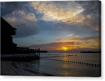 Another Sunset In Paradise Canvas Print
